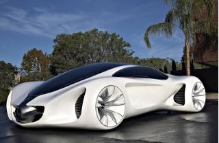 Mercedes-Benz BIOME- экологичный автомобиль из растительного биоволокна. Автомобили будущего